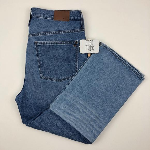 Madewell Denim - Madewell Retro Crop Bootcut Jeans